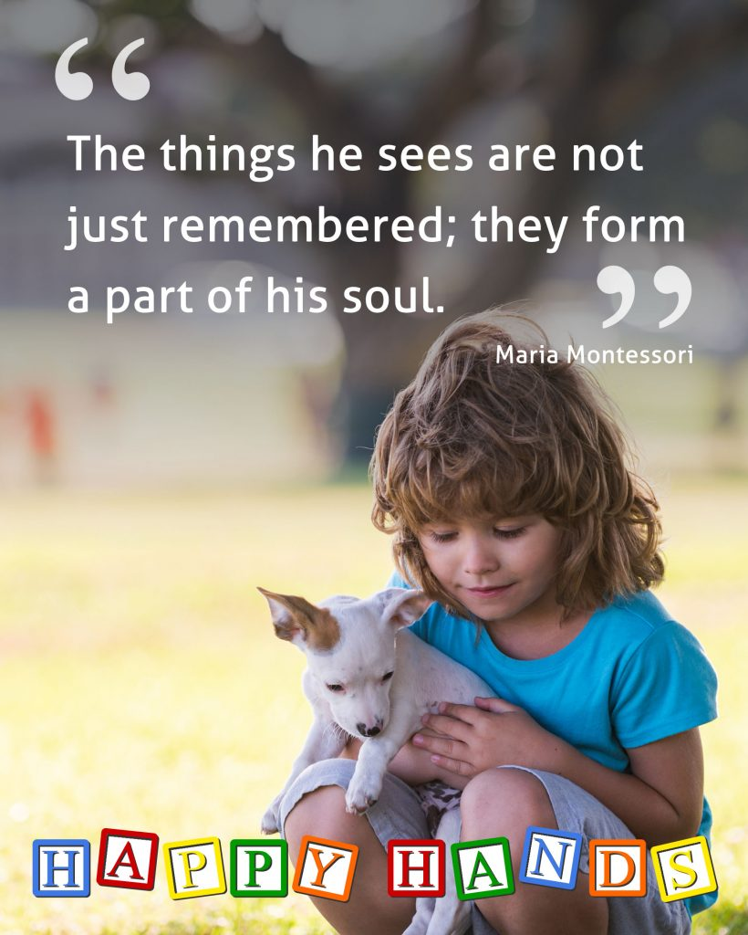 The things he sees are not just remembered; they form a part of his soul.